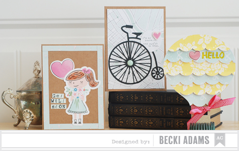 Becki Adams_Vintage Card Set