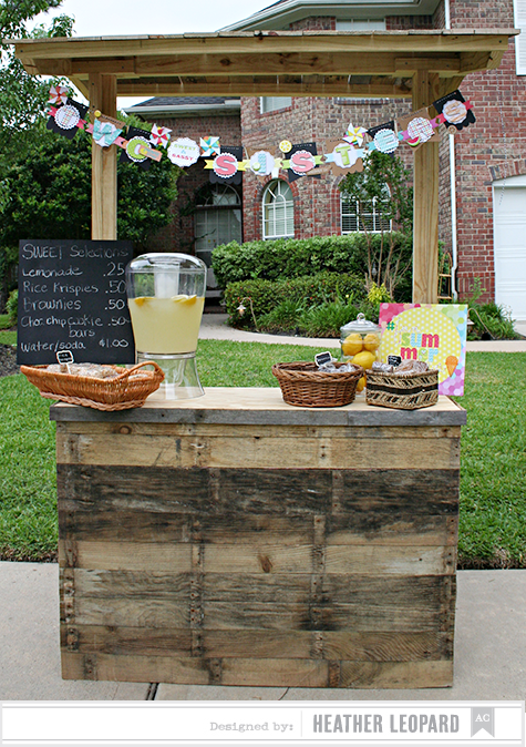 Two Sisters Lemonade Stand by Heather Leopard AC