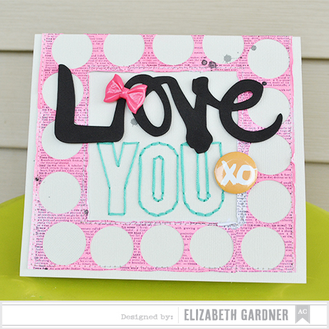 american crafts studio blog circles layout amp card by