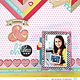 Oh so lovely by Heather Leopard American Crafts