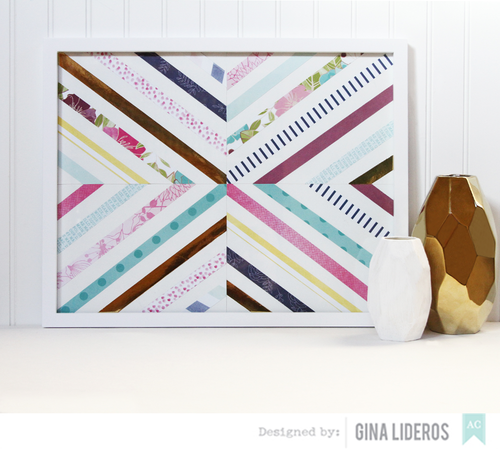 Gina Lideros 10+Patterned Papers Tutorial AC