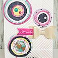 Smile Card by Heather Leopard American Crafts