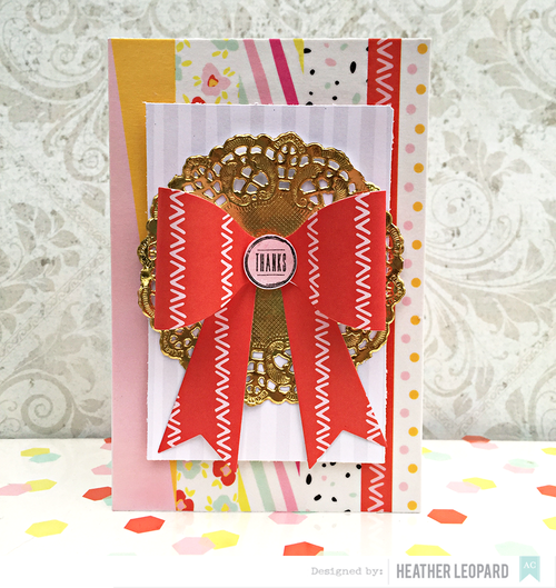 Thanks Card by Heather Leopard