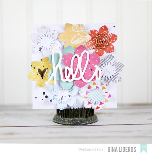 Gina Lideros Flowers card AC