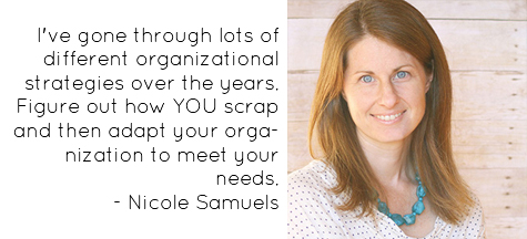 Craft Storage: Craft Room Tour: American Crafts Design Team Member - Nicole Samuels (image)