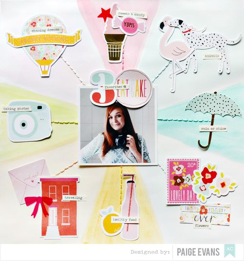 Favorites & 30 by Paige Evans