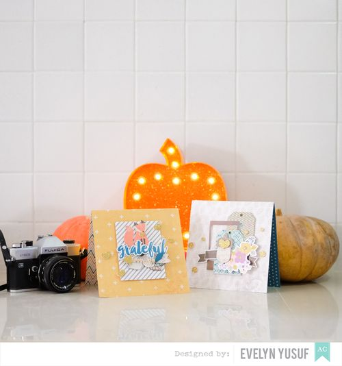 Fall cards cover by Evelynpy