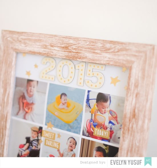 Year in Review DIY Frame Details 1 by Evelynpy