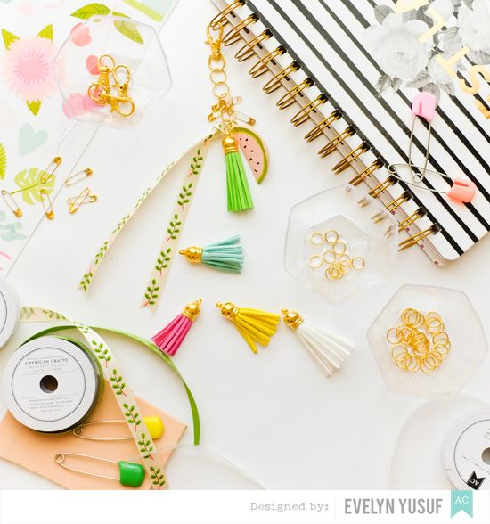 DIY Planner Charms Ingridients Cover by Evelynpy