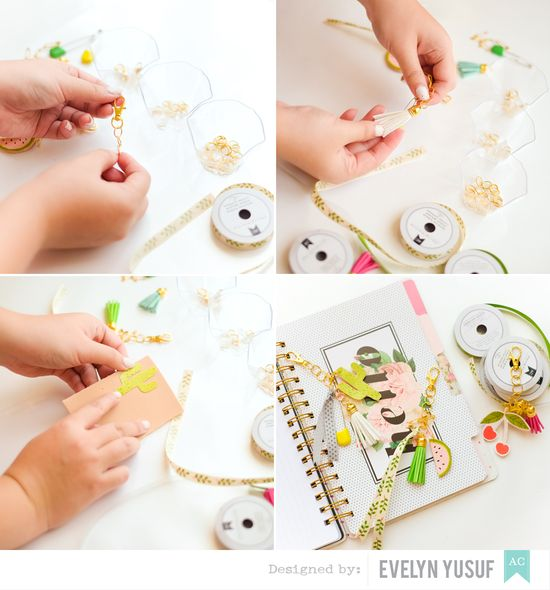 DIY Planner Charms Step by Step by Evelynpy