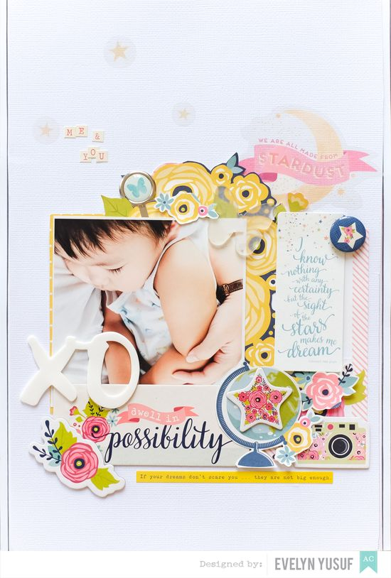 Spring Boy Layout American Crafts Full by Evelynpy