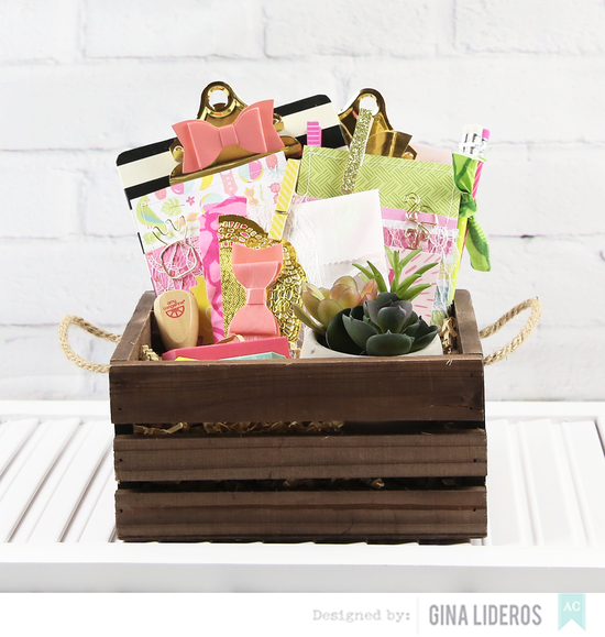 Gina Lideros AC Mothers Gift Basket1