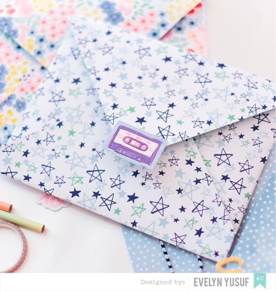 Pretty Envelopes American Crafts Better Together Details 3   by Evelynpy