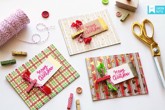 Foiled Christmas Cards 5