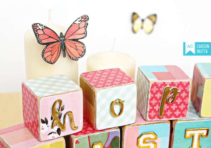 American Crafts Easter Block Home Decor by Carson Riutta 5