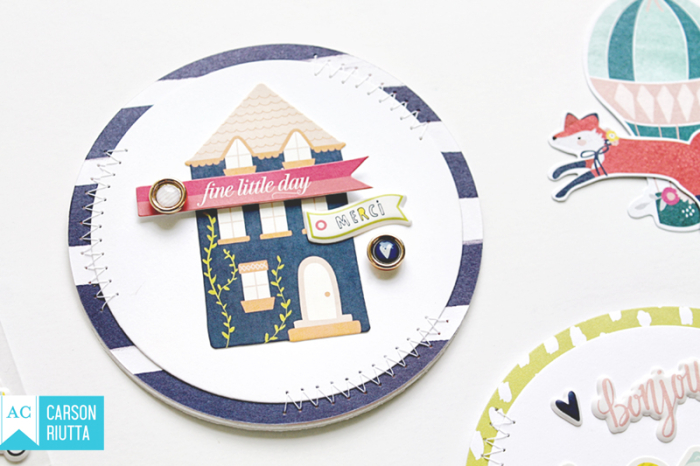 Lovely Day Small Pieces Cards by Carson Riutta 2