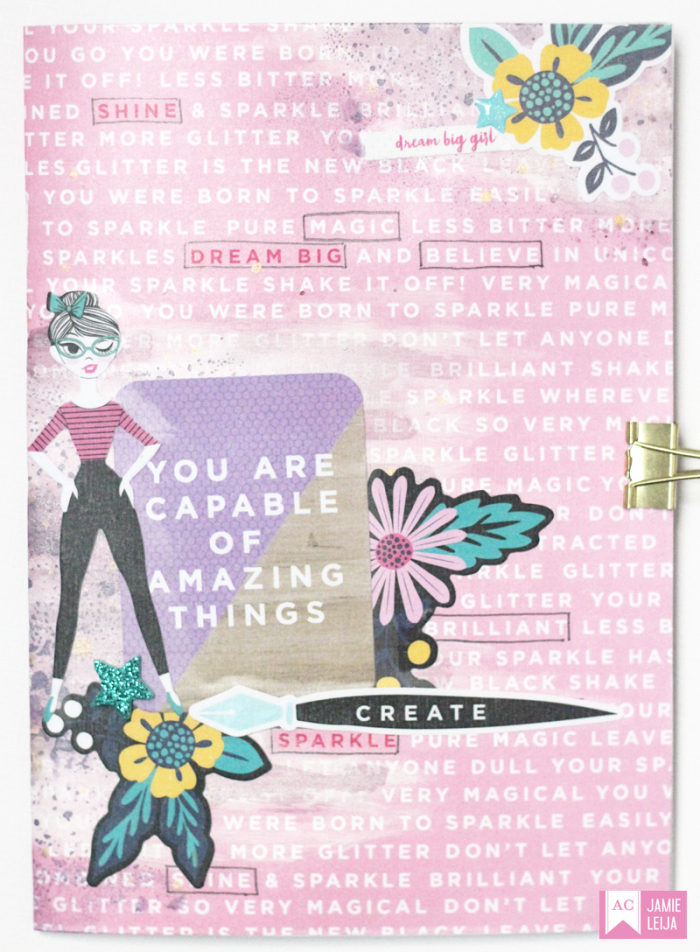 American_Crafts_Glitter_Girl_Notebook_Jamie_Leija_August_2017_03
