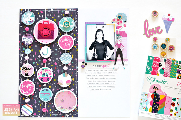 Glitter-Girl-Scrapbook-Page-American-Crafts-DT-watermark