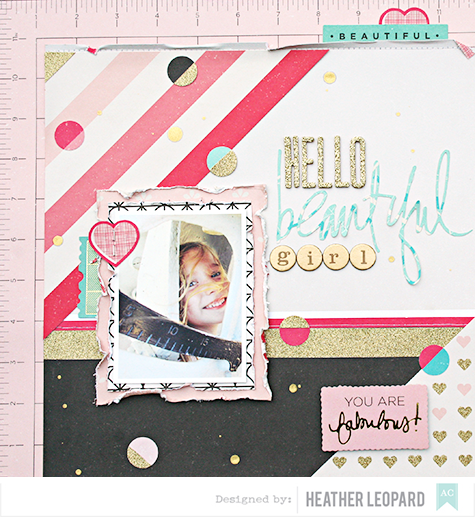 Hello Beautiful Girl by Heather Leopard for AC