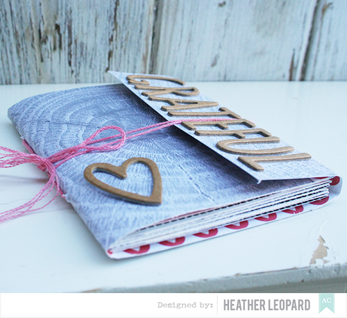 Grateful Journal by Heather Leopard American Crafts