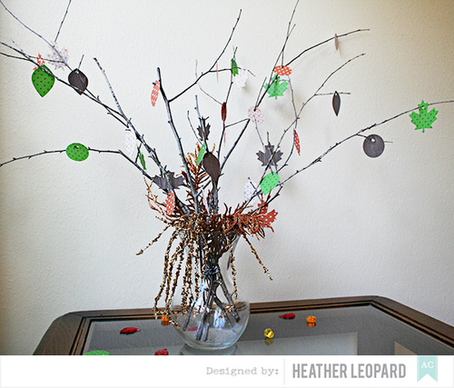 Thanksgiving Tree by Heather Leopard American Crafts