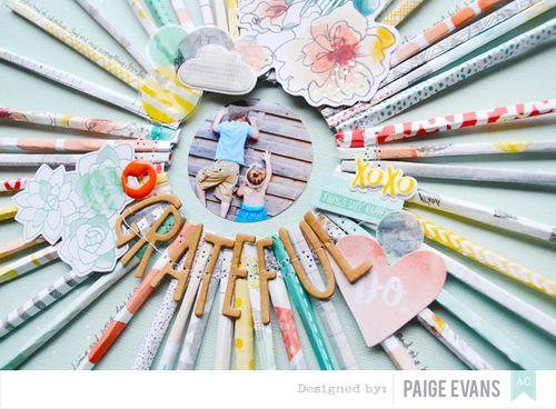 Grateful Detail by Paige Evans