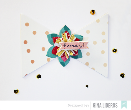 Gina Lideros Hooray card