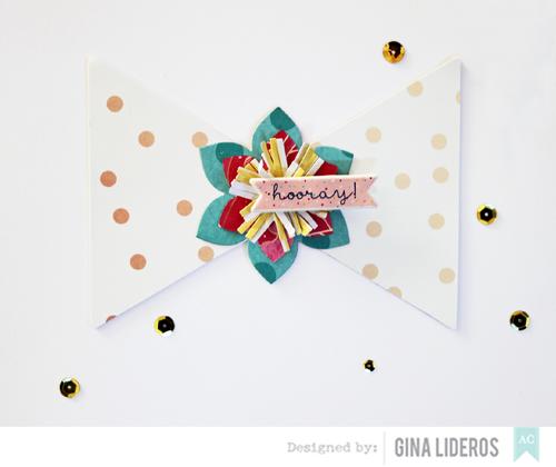 Gina Lideros Hooray card