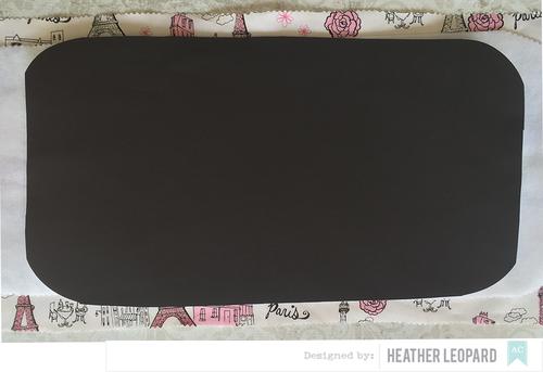 Chalk Mat Tutorial by Heather Leopard Step 2