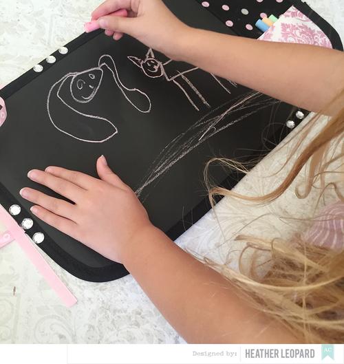 Chalk Mat Tutorial by Heather Leopard Step 6
