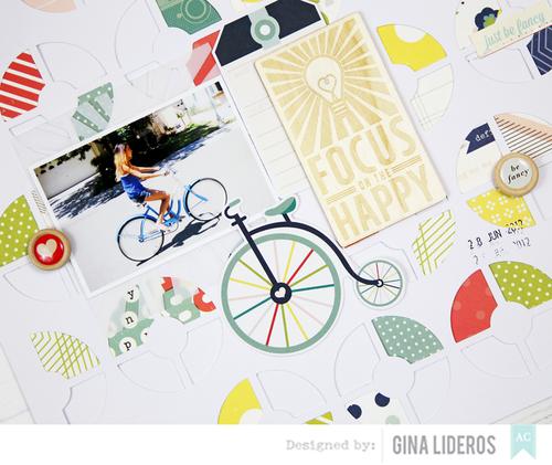 Gina Lideros Circles Focus On The Happy close