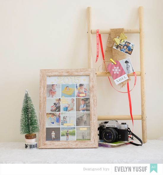 Year in Review DIY Frame by Evelynpy