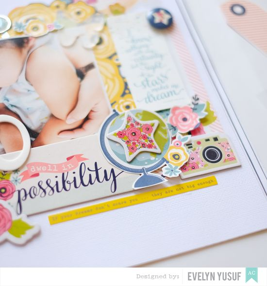 Spring Boy Layout American Crafts Details 3 by   Evelynpy