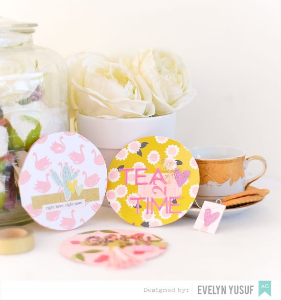 Circles Tea Bags Full by Evelynpy