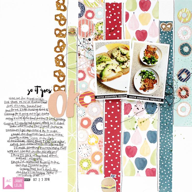 American Crafts-Dear Lizzy Food 02