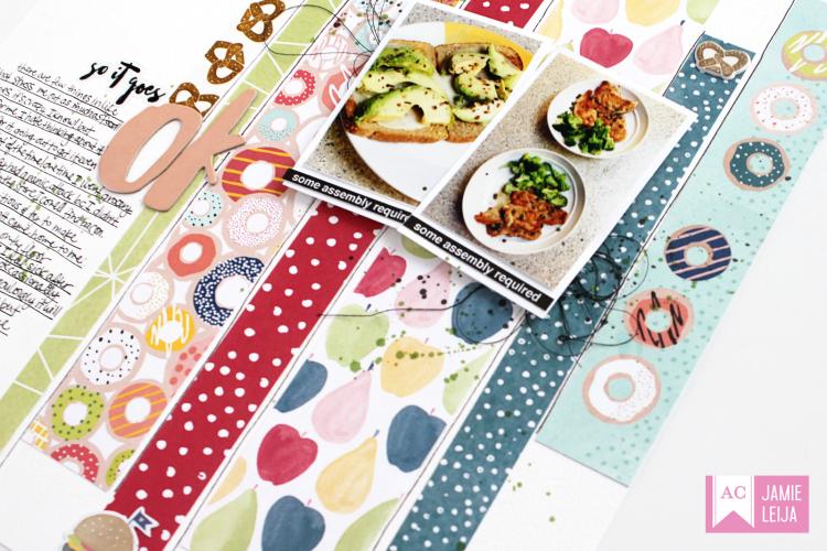 American Crafts-Dear Lizzy Food 04