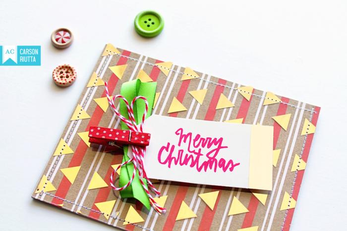 Foiled Christmas Cards 4