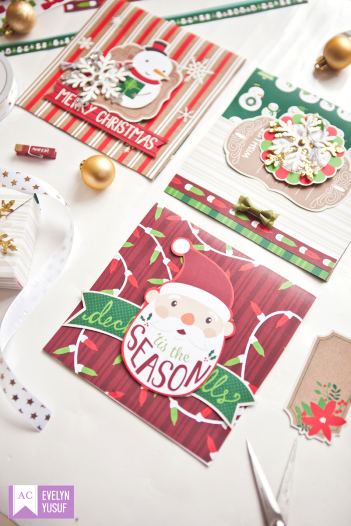 Christmas Cards American Crafts by Evelynpy Details2