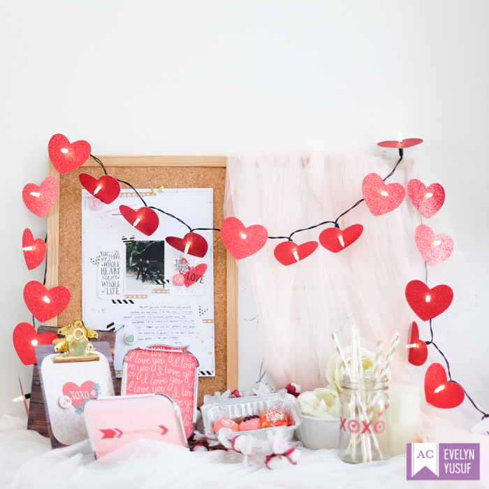 Valentine Desktop Decor Cover by  Evelynpy Americancrafts