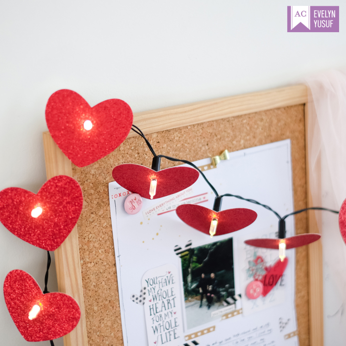 Valentine Desktop Decor Detail2 by   Evelynpy Americancrafts
