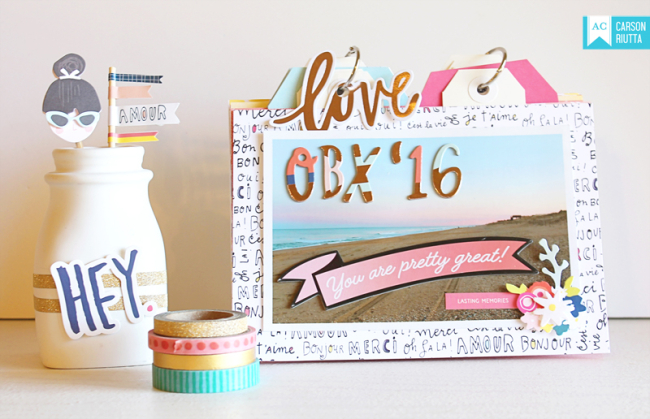 American Crafts Lovely Day OBX Mini by Carson Riutta Full