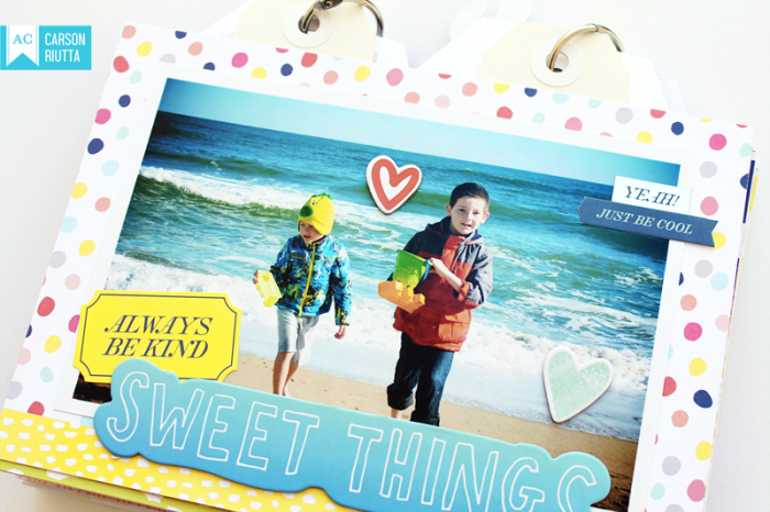 American Crafts Lovely Day OBX Mini by Carson Riutta Beach