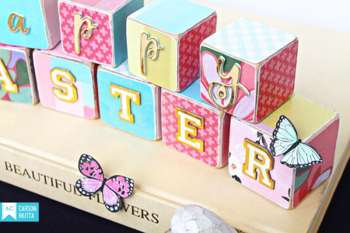 American Crafts Easter Block Home Decor by Carson Riutta 2