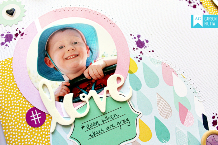 Little by Little Circles Layout by Carson Riutta 6