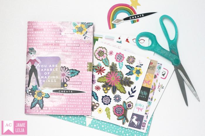 American_Crafts_Glitter_Girl_Notebook_Jamie_Leija_August_2017_02