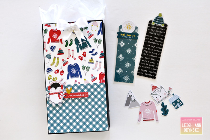 American-crafts-sweater-weather-gift-bag-and-bookmarks-Photo5