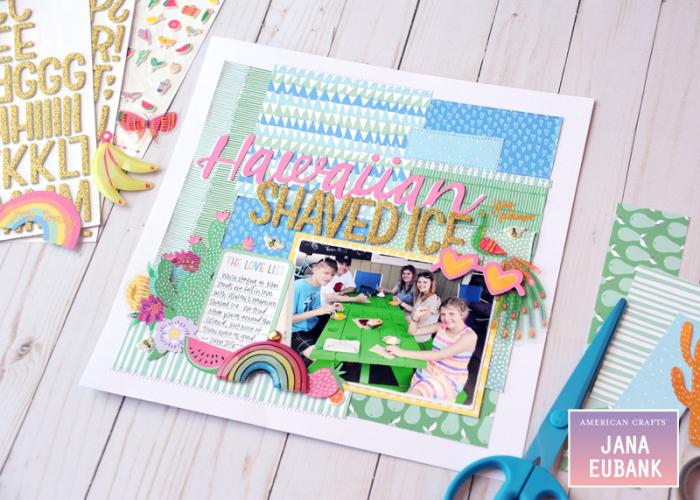 Jana-Eubank-American-Crafts-Sunshine-Good-Times-Hawaiian-Shaved-Ice-Scrapbook-Page-7-800