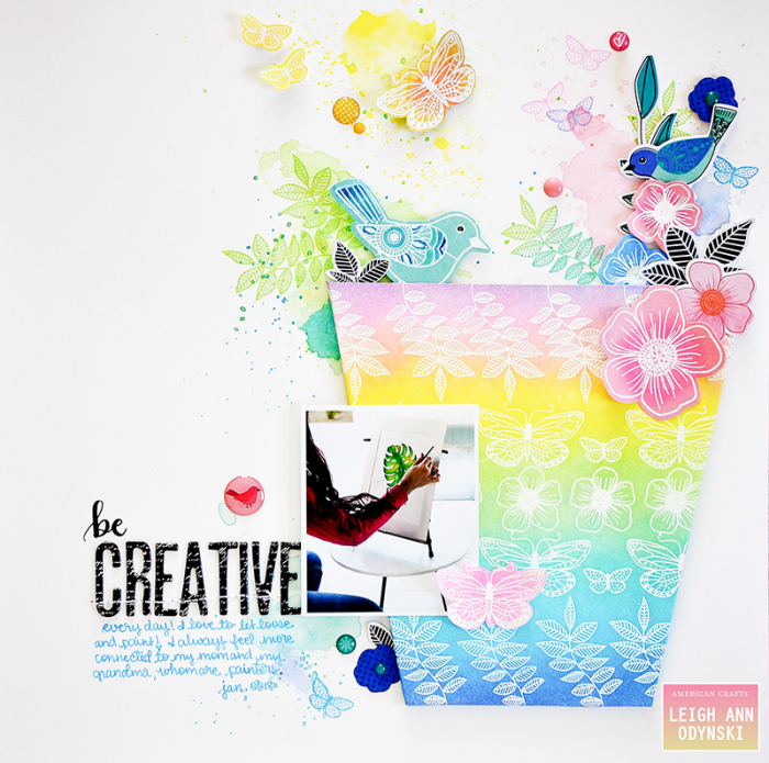 American-crafts-mixed-media-layout-be-creative-photo1