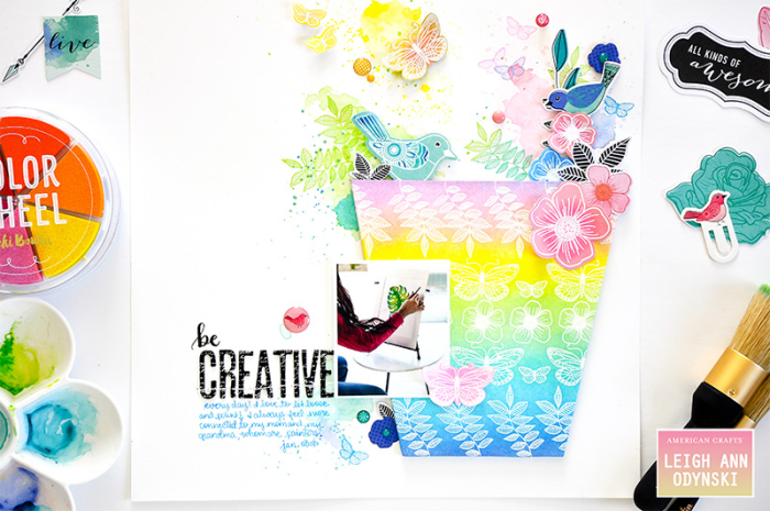 American-crafts-mixed-media-be-creative-layout-staged-photo7