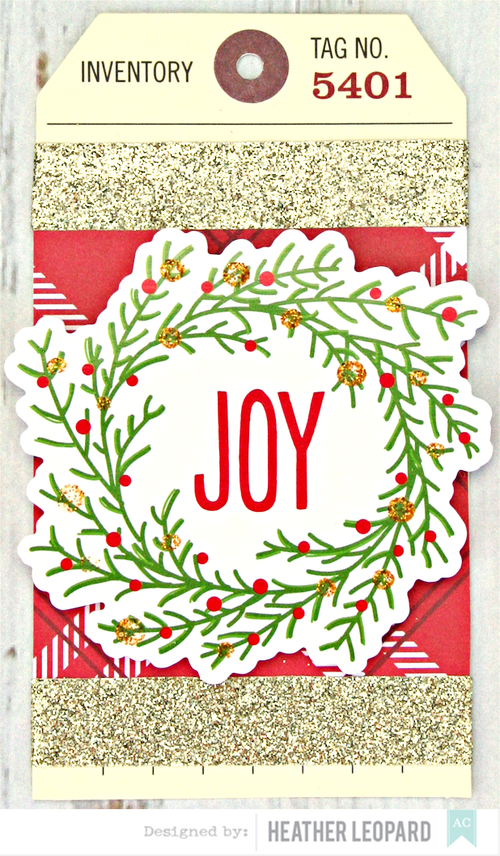 Joy Tag by Heather Leopard American Crafts